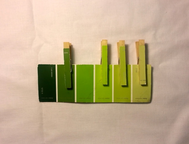 Colour Matching Pegs