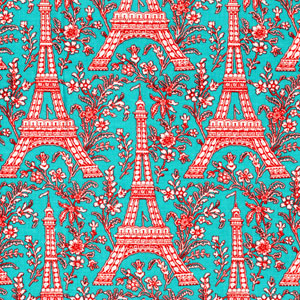 (C - 1248) Eiffel Tower by Michael Miller