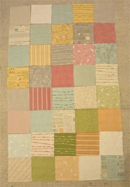 Structured Patchwork Quilting