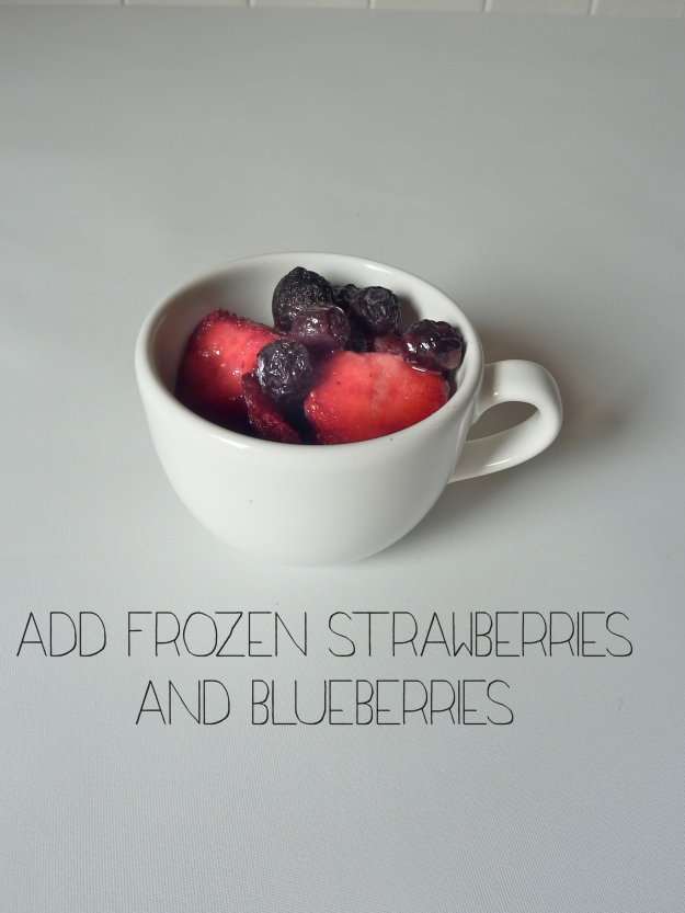 Frozen Fruit Smoothie