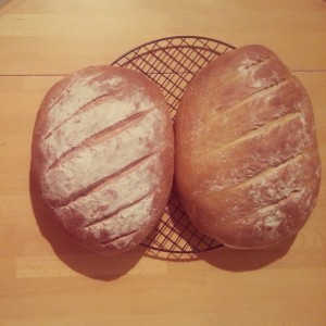 Post-Bake White Bloomer